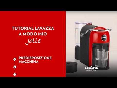 Lavazza A Modo Mio Jolie - Tutorial predisposizione macchina   Lavazza IT