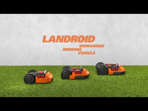 LANDROID 2019 robot rasaerba Worx - presentazione - ITALIANO worx-europe.com