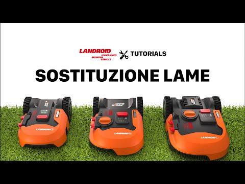 SOSTITUZIONE LAME WORX LANDROID 2019 - Italiano - worx.com