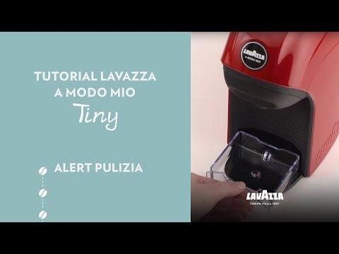 Lavazza A Modo Mio Tiny - Tutorial alert pulizia | Lavazza IT