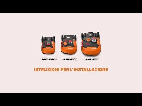 Landroid 2019 Istruzioni per l'installazione ITA worx-europe.com