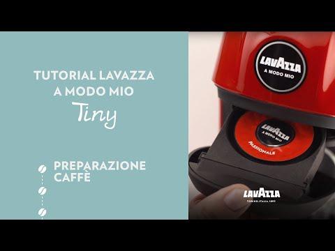 Lavazza A Modo Mio Tiny - Tutorial preparazione caffè | Lavazza IT