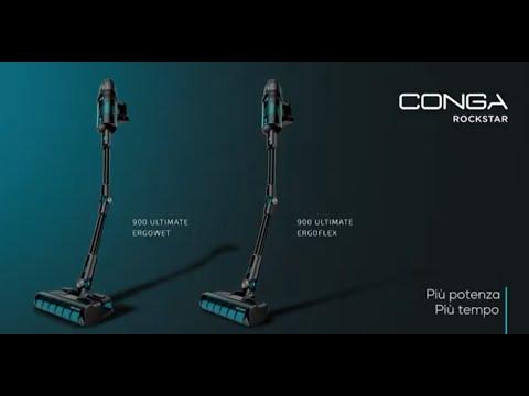 Aspirapolvere Verticale - Conga Rockstar 900 Ultimate ErgoFlex y ErgoWet