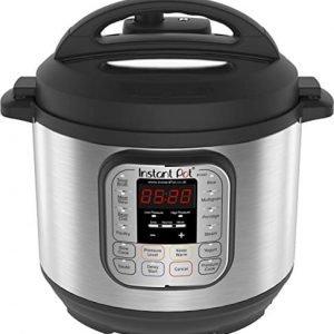 Instant Pot IP-DUO60 Pentola elettrica a pressione, programmabile, 7-in-1, 6 litri, 1000W, acciaio inox