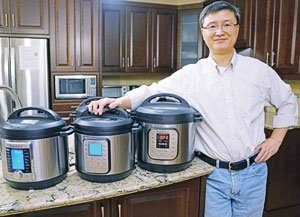 Robert Wang è l'inventore dell'instant pot