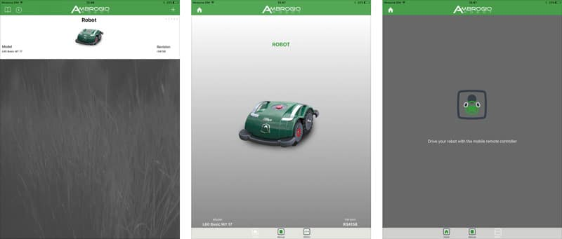 applicazione mobile per ambrogio robot