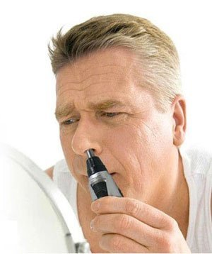 taglia peli per naso