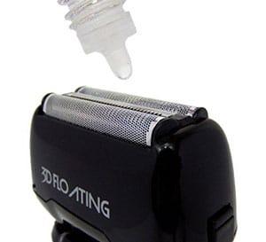 lubrificare il rasoio elettrico