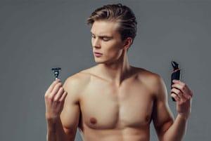 rasoio elettrico corpo e barba