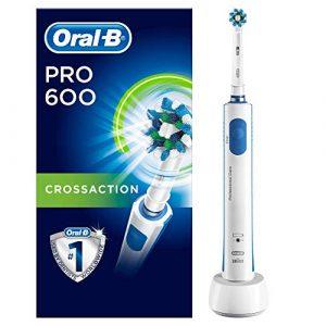 Oral-B Pro 600 Crossaction Spazzolino Elettrico