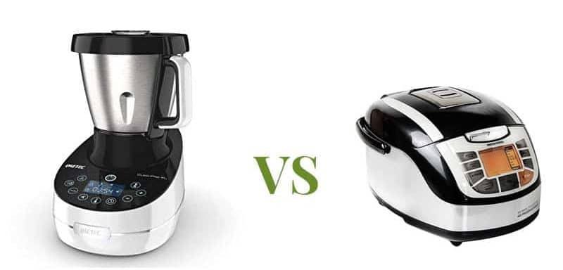 differenze tra cooking machine e multicooker