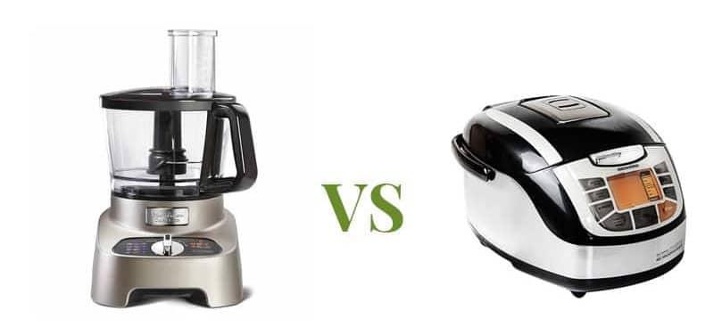 differenze tra robot da cucina e multicooker