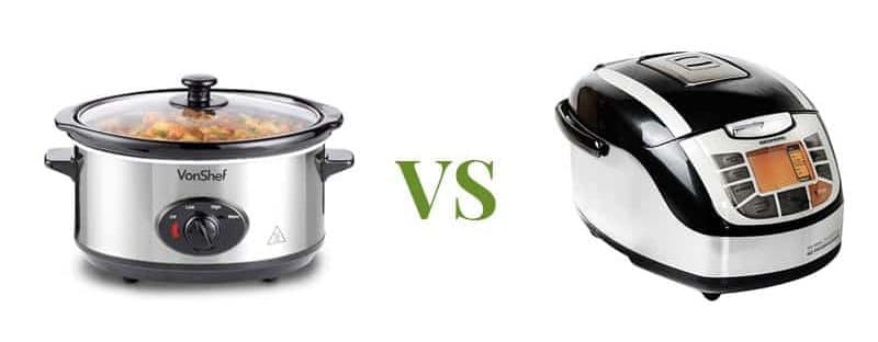 differenze tra slow cooker e multicooker