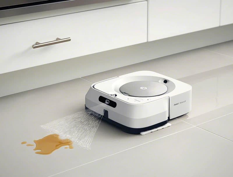 Storia del robot lavapavimenti Braava di irobot
