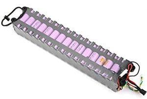 batteria del monopattino elettrico