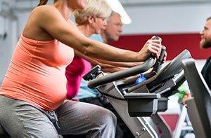 fare cyclette in gravidanza