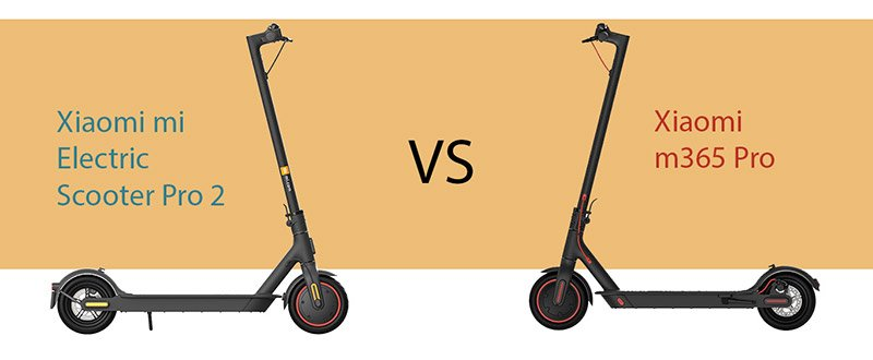 Xiaomi Mi Electric Scooter Pro2 vs Xiaomi m365 Pro
