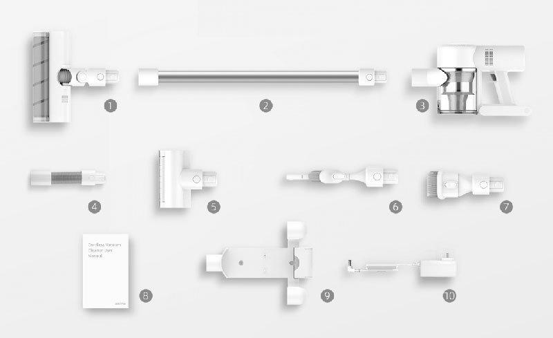 accessori inclusi con xiaomi dreame v10