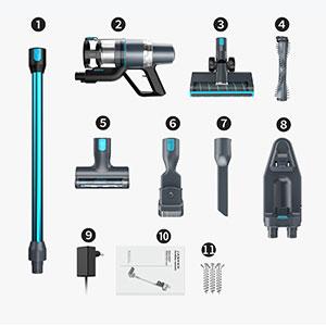 Jashen V18 - accessori inclusi