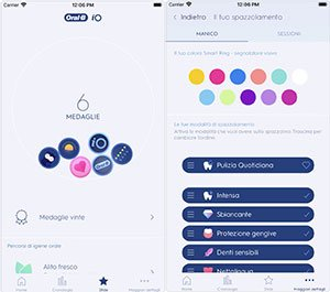 Oral-B app per spazzolino iO Series 9