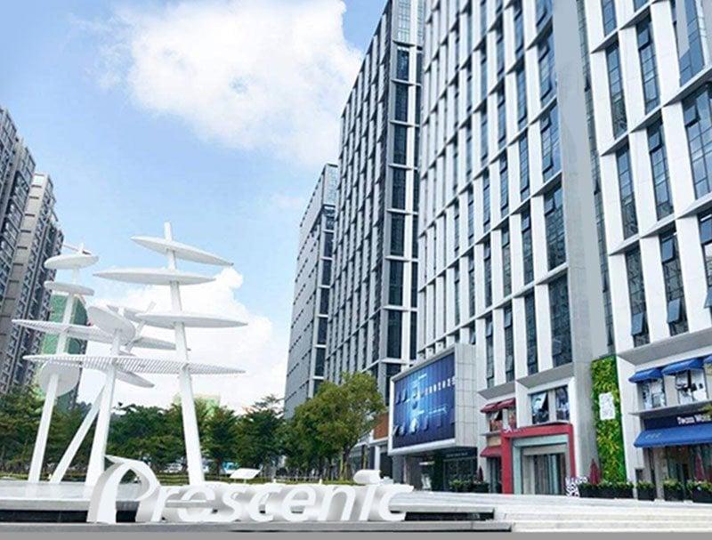 Sede dell'azienda Proscenic a Shenzhen Cina