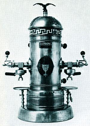 macchina caffè espresso la pavoni ideale