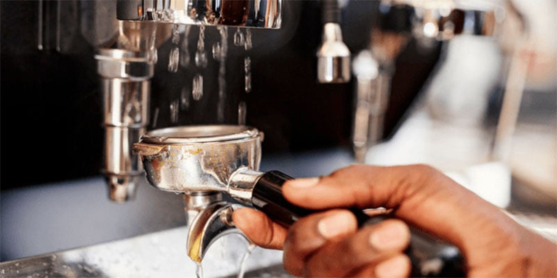 Macchina caffè manutenzione