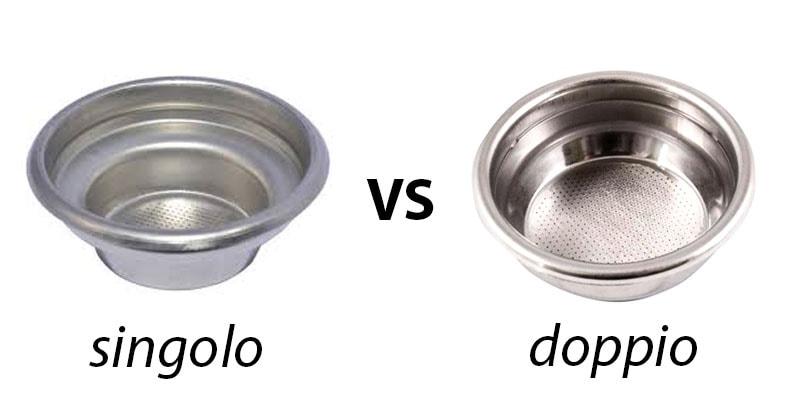filtro singolo vs filtro doppio