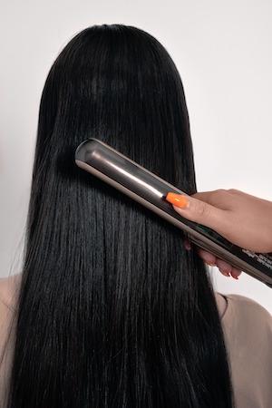 la piastra rovina i capelli?