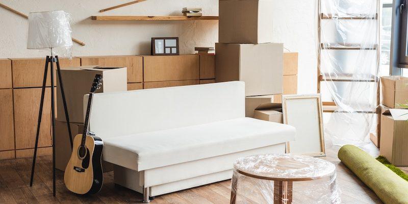 Mobili di cartone riciclato – arredare casa risparmiando